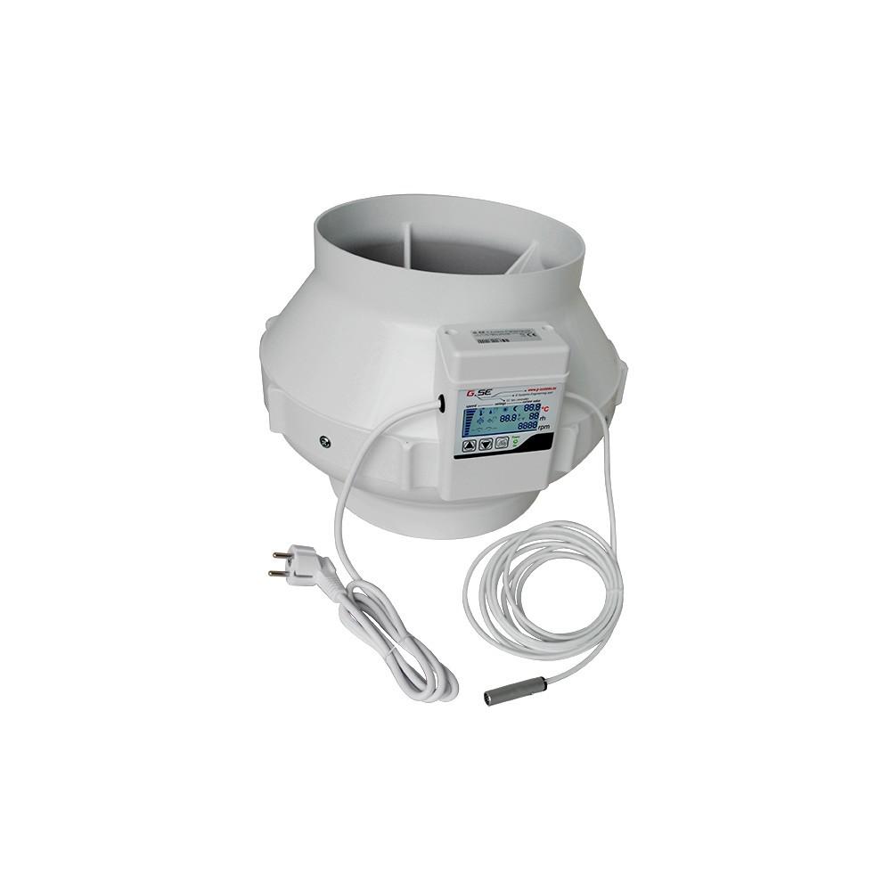 Ventilátor GSE EC s displejem 250mm, 1450m3/h
