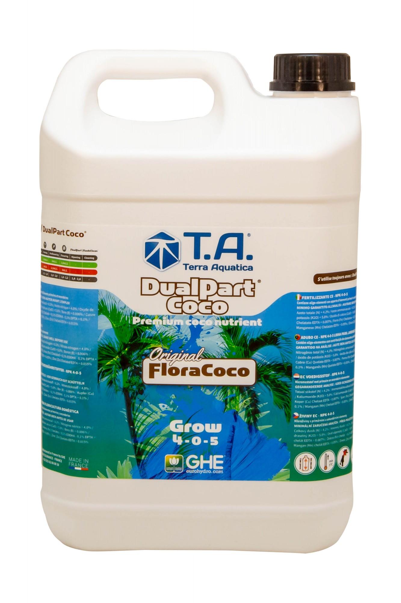 GHE FloraCoco Grow 5L (DualPart Coco Grow)