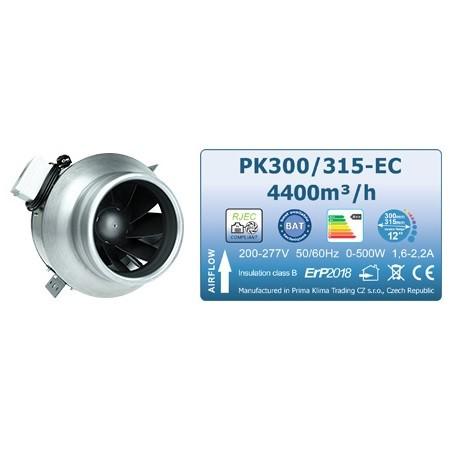 Ventilator Prima Klima Blue Line, 300-315 mm, 4400 m³/h - EC motor