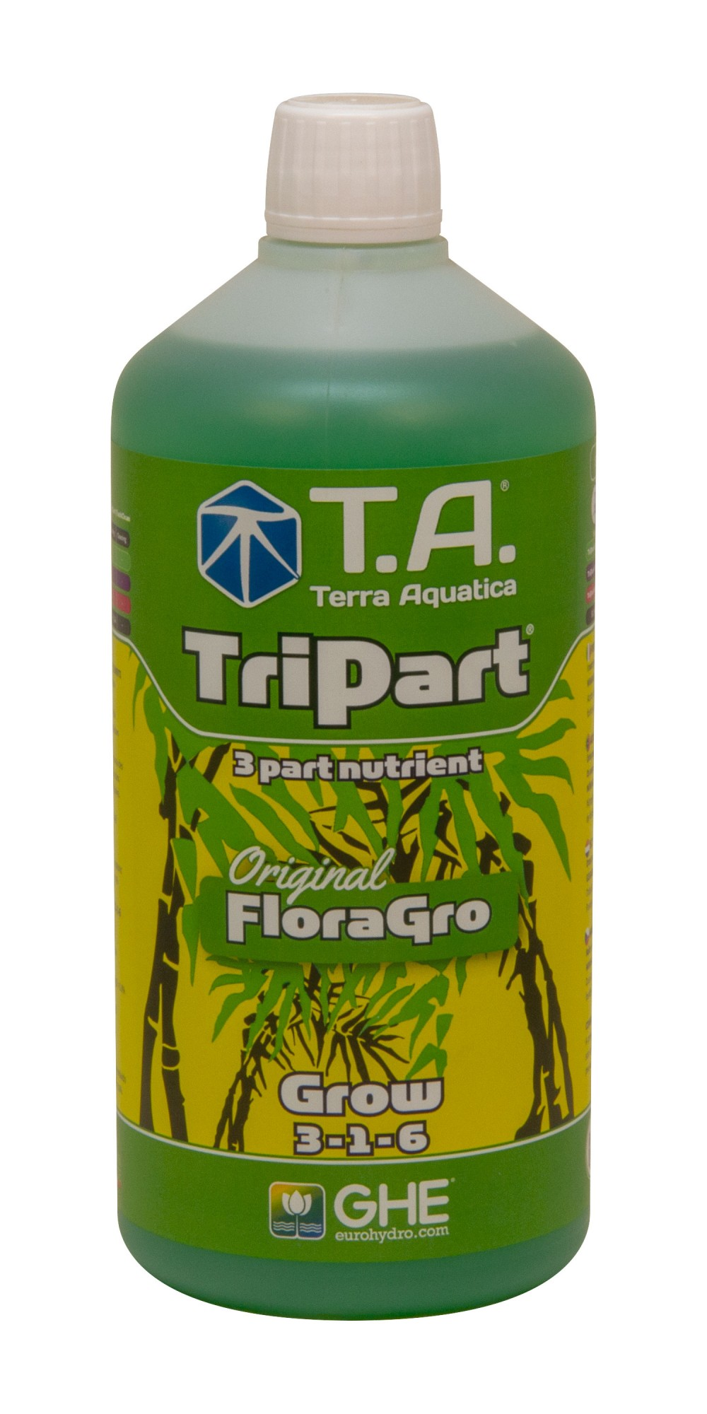 GHE FloraGro 500ml (TriPart Grow)