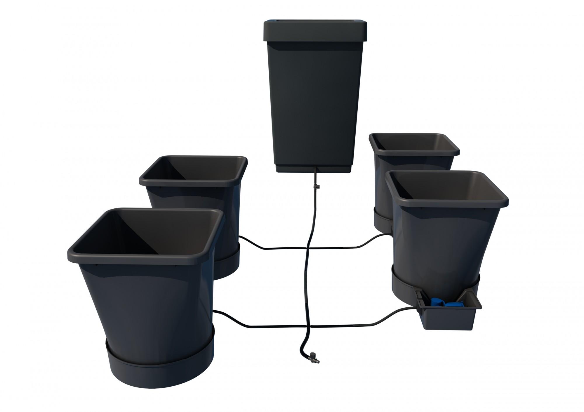 Autopot 1Pot XL systém 4 květníky vč. 47L plastová nádrž