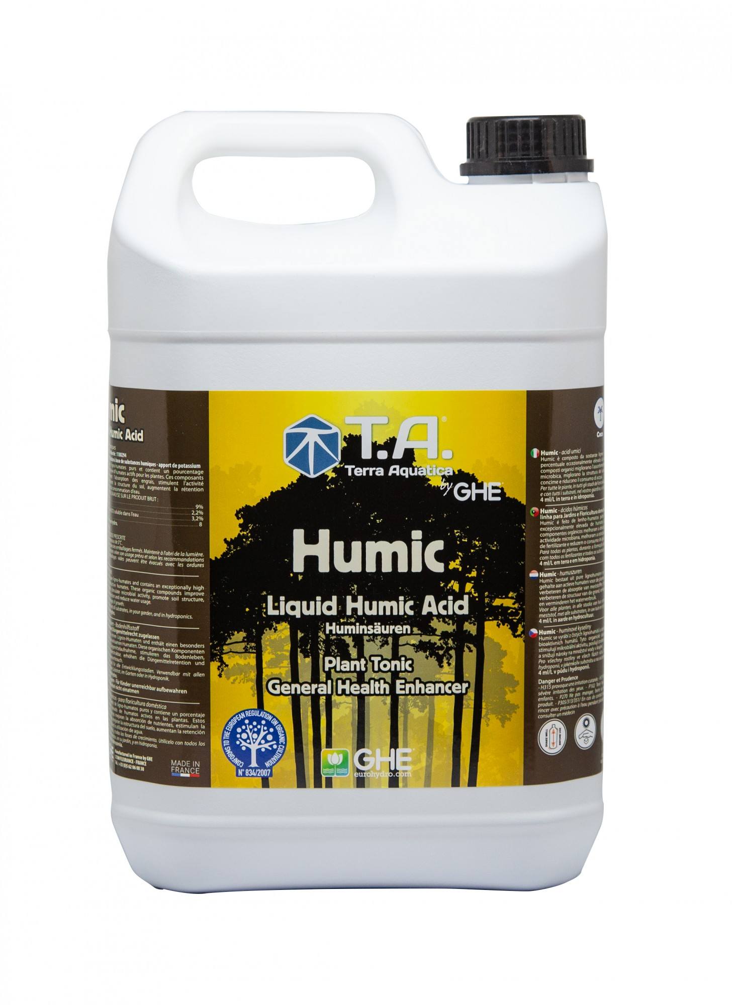 GHE GO Diamond Black 60L (Humic)