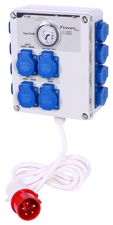 GSE Timer Box II - 12x600W / 400V