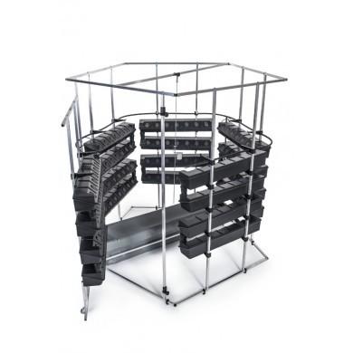 Hydroponický systém VAKPLAST 5SM - pětistěnný malý