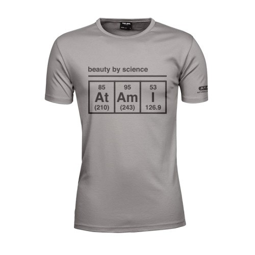 Atami pánské tričko - Beauty by Science Stone L
