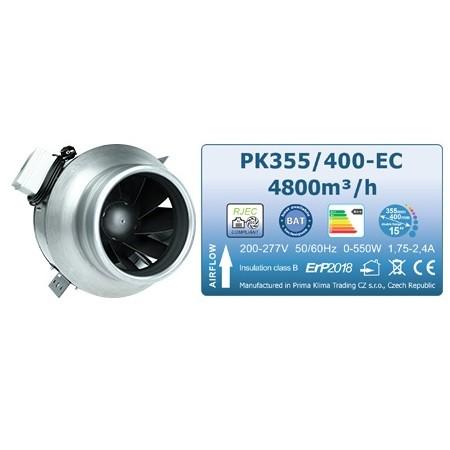 Ventilátor Prima Klima Blue Line, 355-400 mm, 4800 m³/h - EC motor