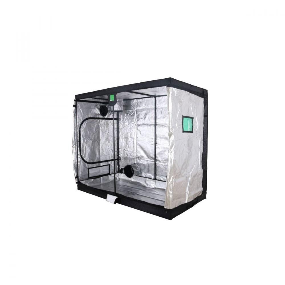 BudBox PRO XXL 120x240x200 stříbrný - pěstební stan