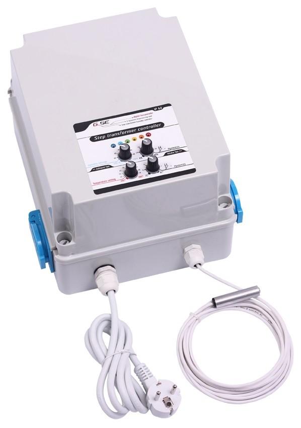 GSE Step transformer 2A - vlhkost/teplota/hystereze pro 2 ventilátory