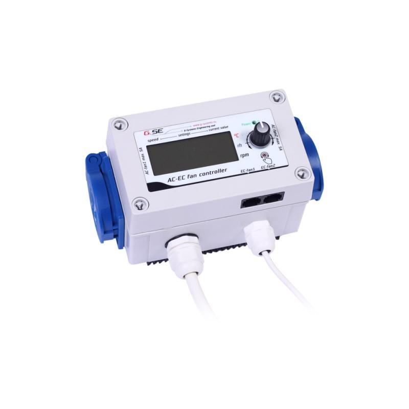 GSE Digitální regulátor AC a EC ventilátorů 2x5A