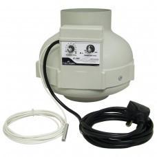 Ventilátor Prima Klima 150mm, 760m3/h - TEMP CTRL