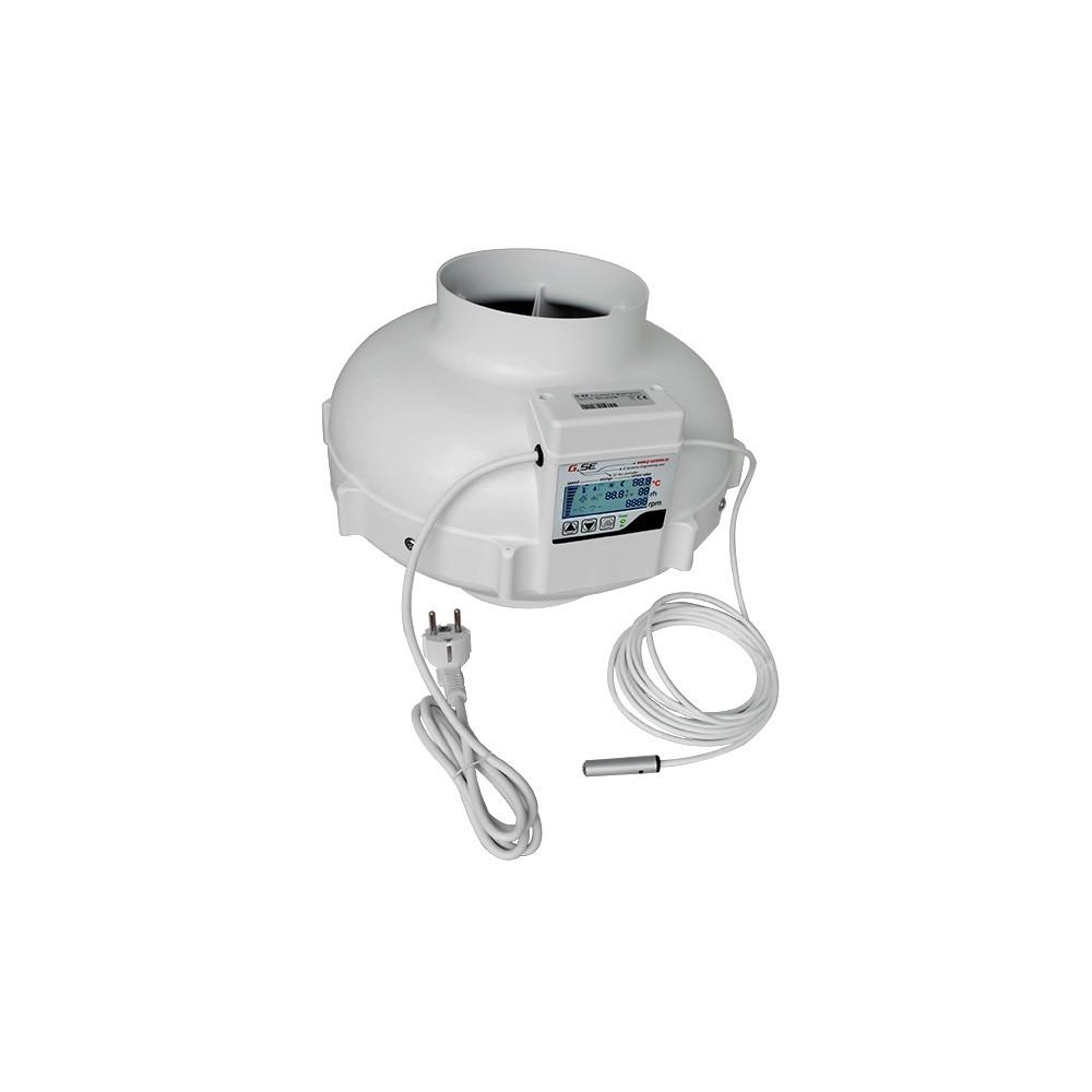 Ventilátor GSE EC s displejem 160mm, 1180m3/h