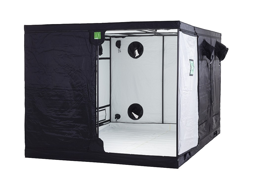 BudBox PRO Titan+ 240x240x200 bílý - pěstební stan