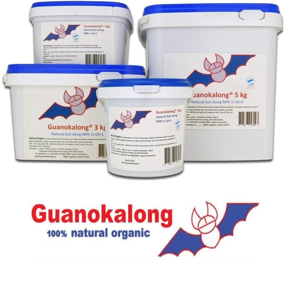 Guanokalong pelety 1 kg