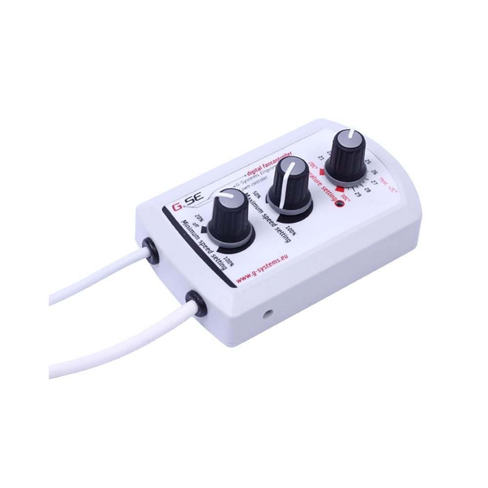 GSE regulátor teploty, min/max rychlosti pro ventilátory s EC motorem