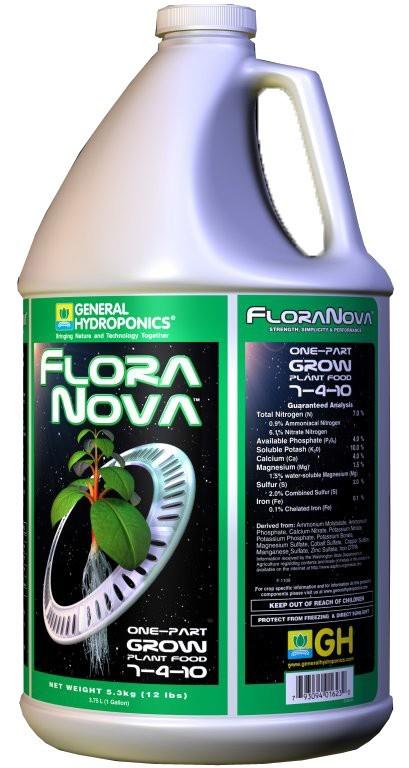 GHE FloraNova Grow 3,79L (NovaMax Grow 5L)