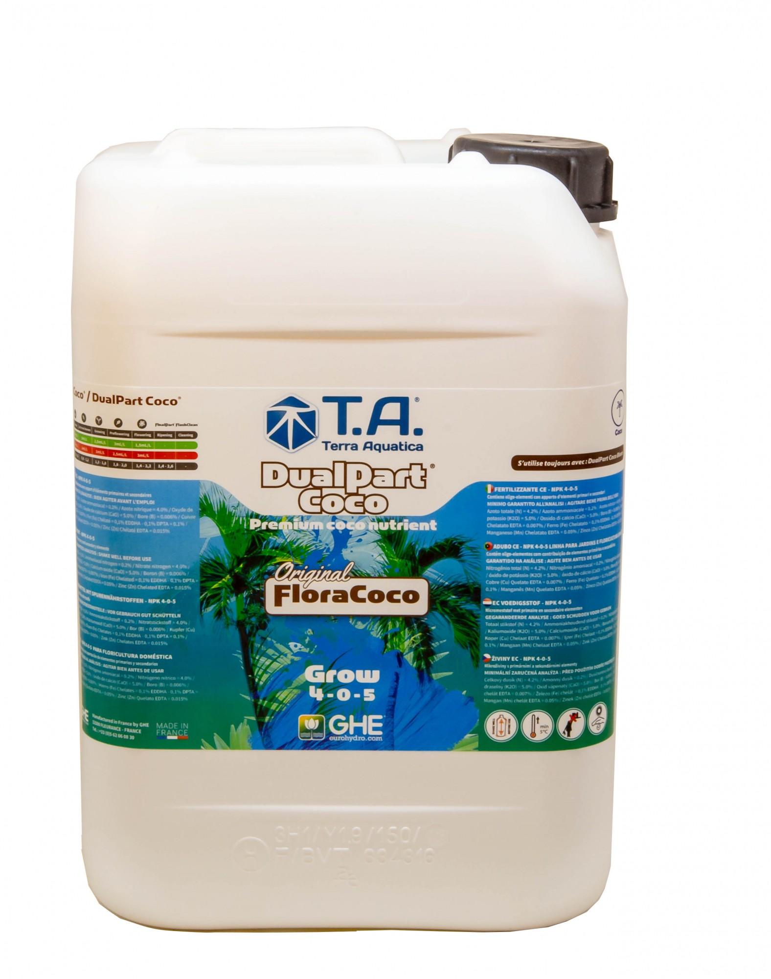 GHE FloraCoco Grow 10L (DualPart Coco Grow)