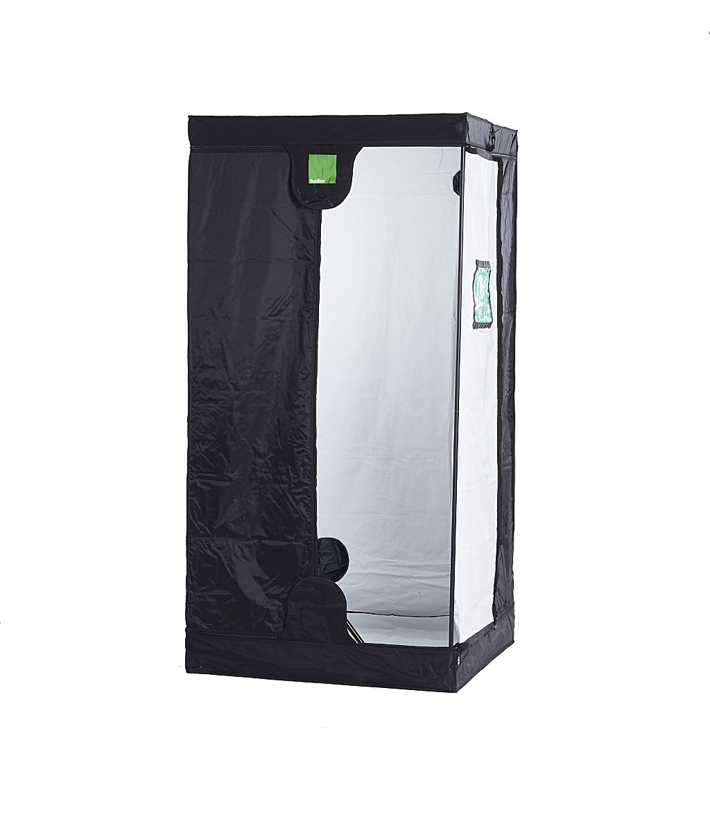 BudBox PRO L200 100x100x200 bílý - pěstební stan