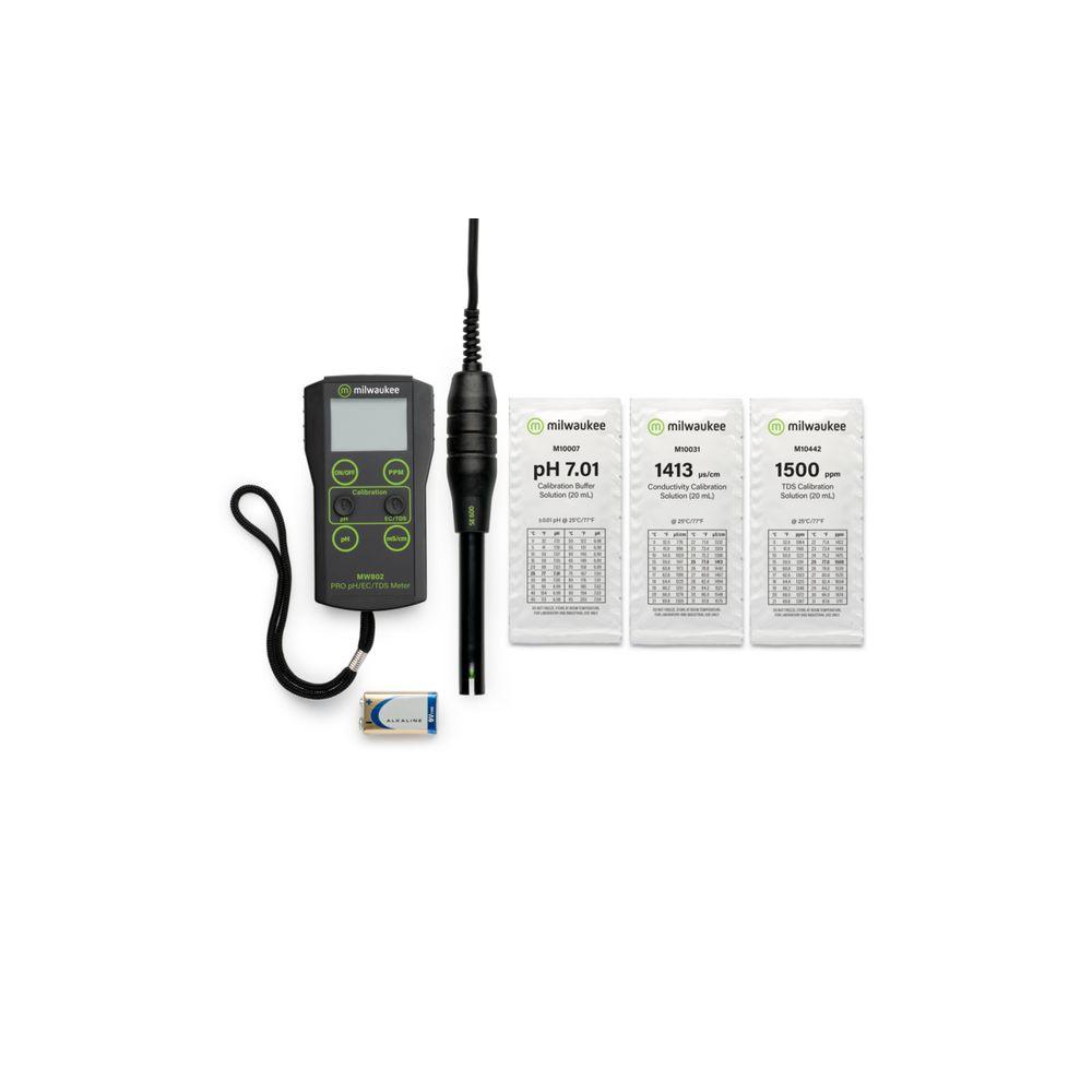 Milwaukee MW802,  EC a pH metr kombinovaný přenosný