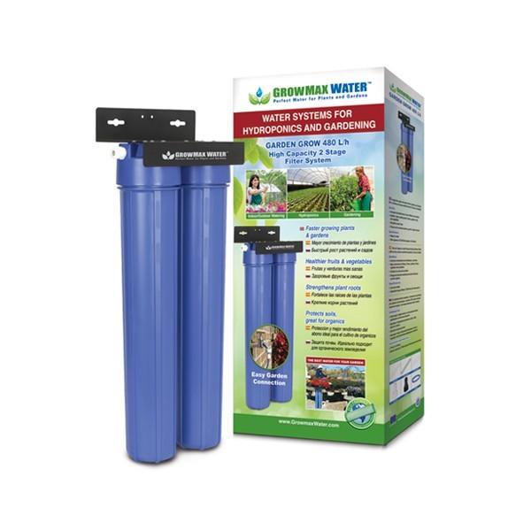 GrowMax Water Vodní uhlíkový filtr Garden Grow 480 l/h