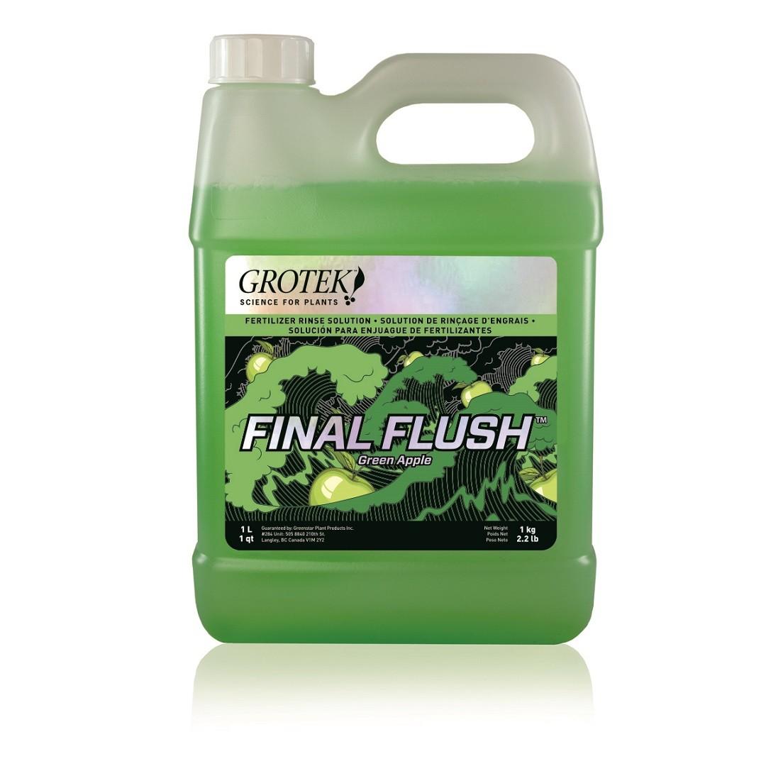 Grotek Final Flush Green Apple 1 l