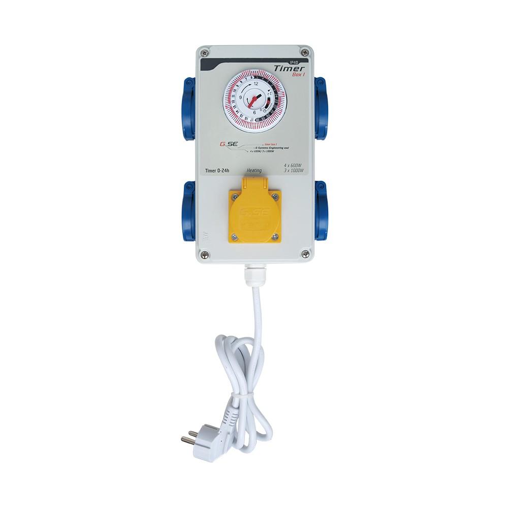 GSE Timer Box I - 4x600W + topení / 220V