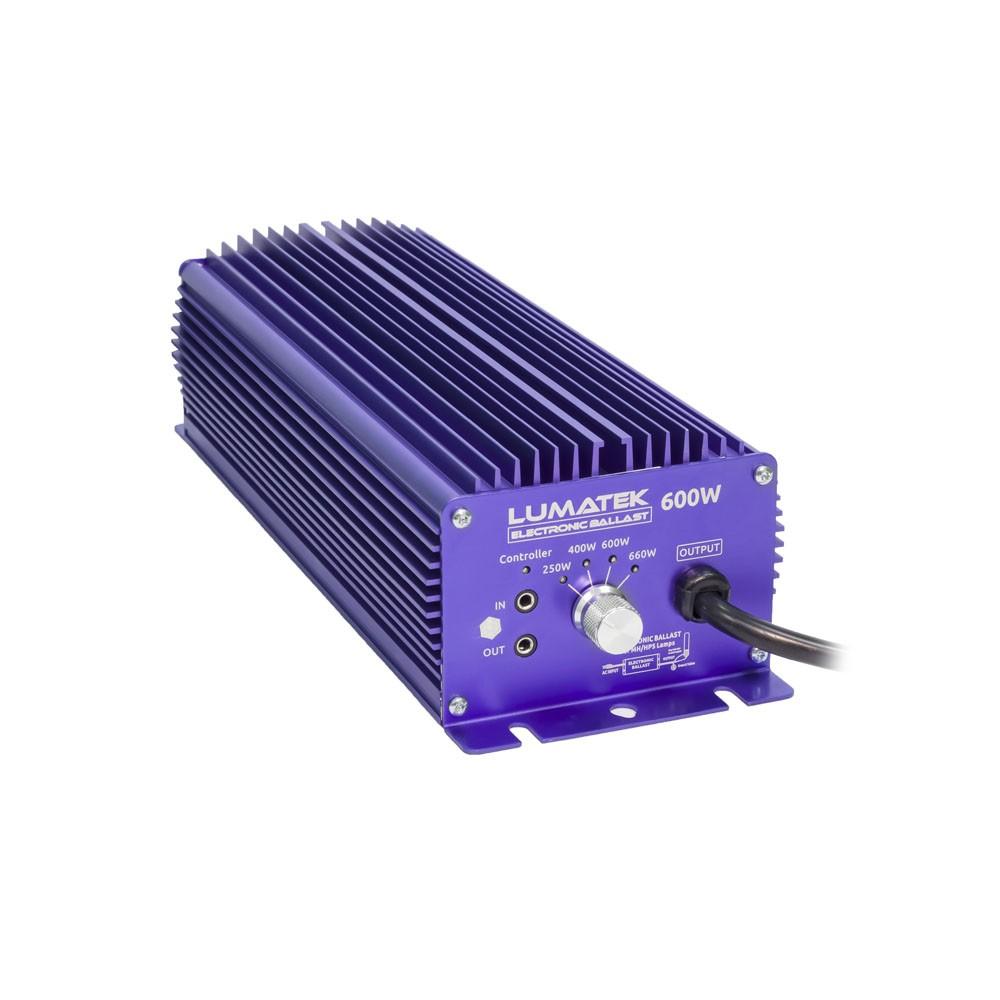 Lumatek digitální předřadník 600W, 240V - Controllable
