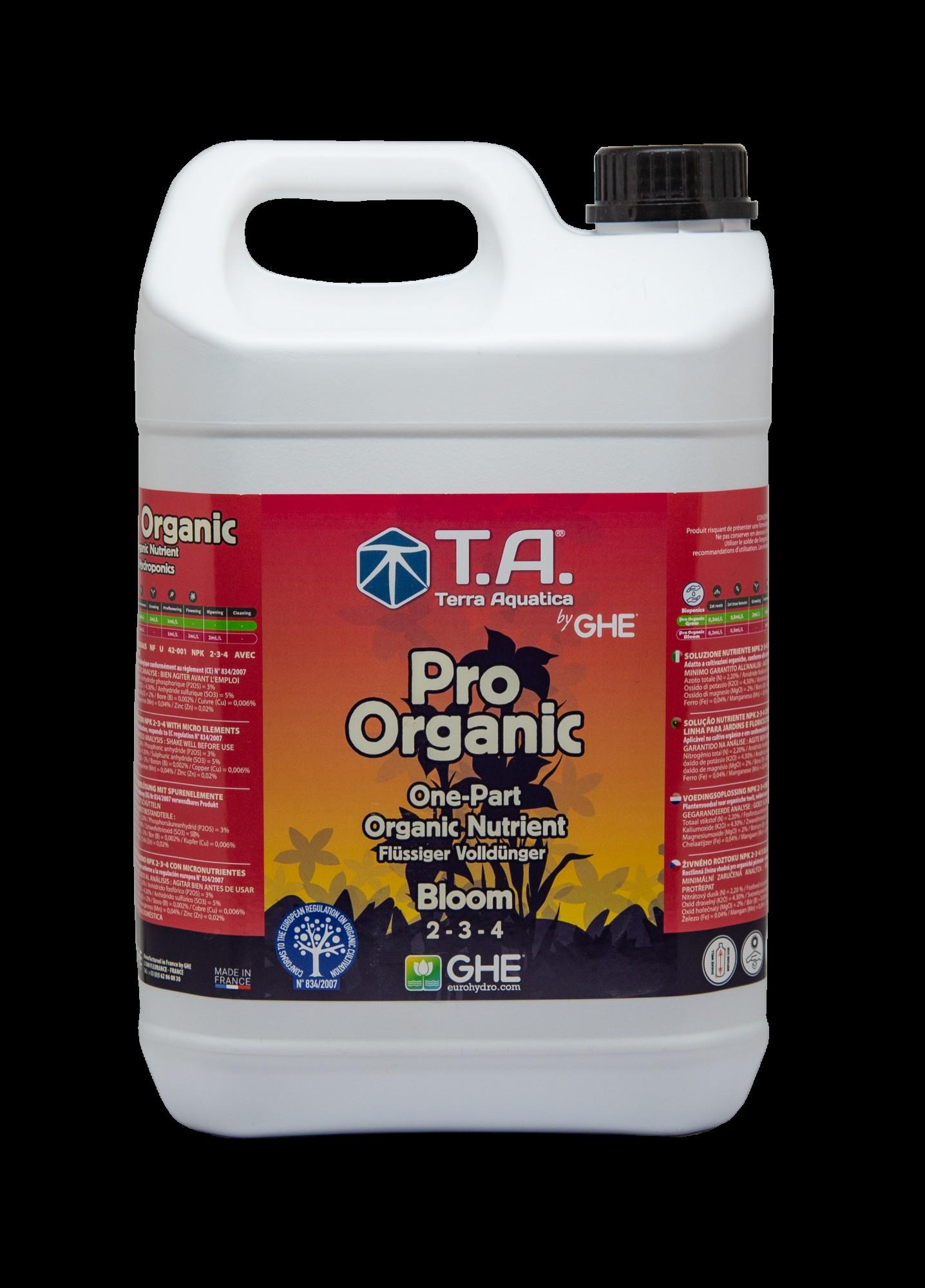 GHE GO BioThrive/Sevia Bloom 5L (Pro Organic Bloom)