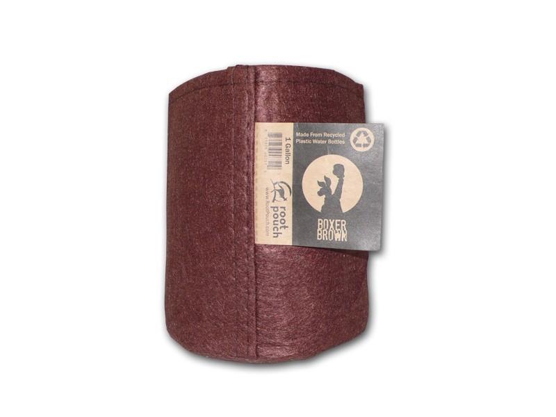 Root pouch textilní květináč Boxer brown 3.8l