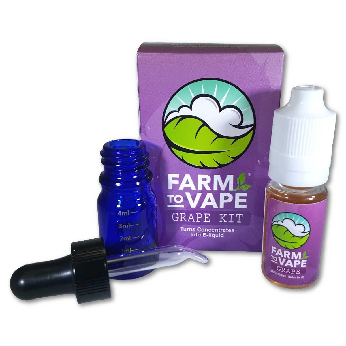 Farm To Vape sada pro rozpoštění pryskyřice 10ml Grape