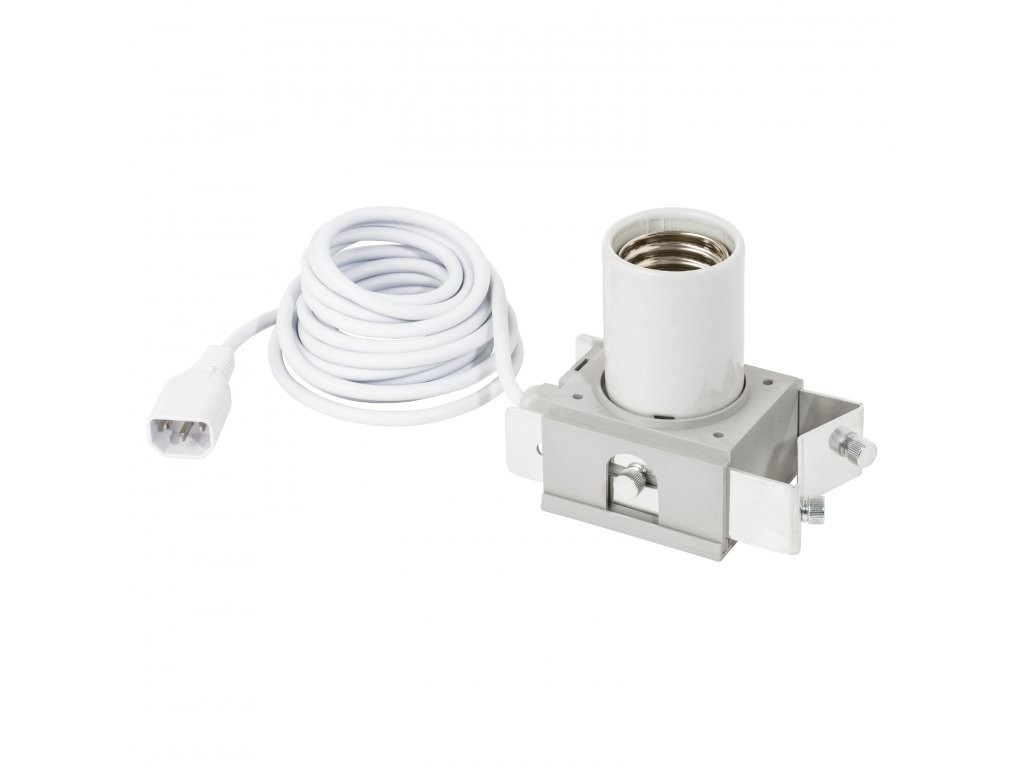Adjust-A-Wings objímka E40 + kabel s IEC konektorem