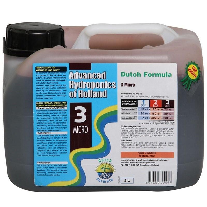 AH Dutch Formula Micro 5 l - směs mikroživin