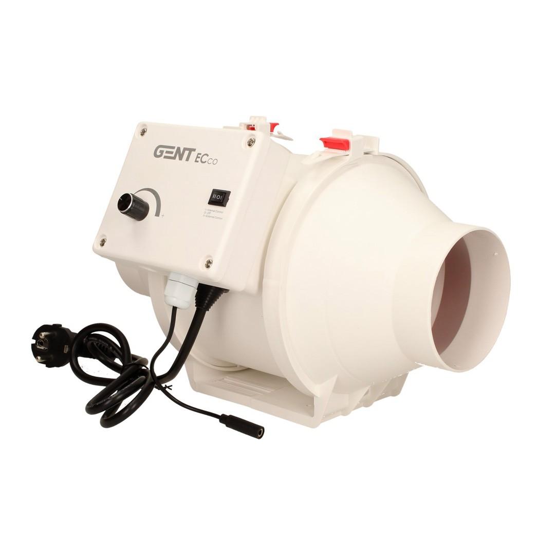 GENT ECco 100mm (280m3/h) s EC motorem a regulací