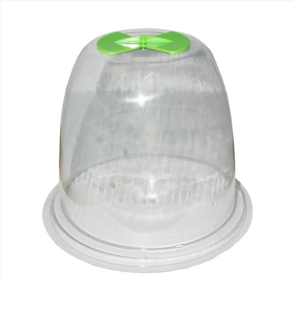 Plastový skleník pro květník 9L