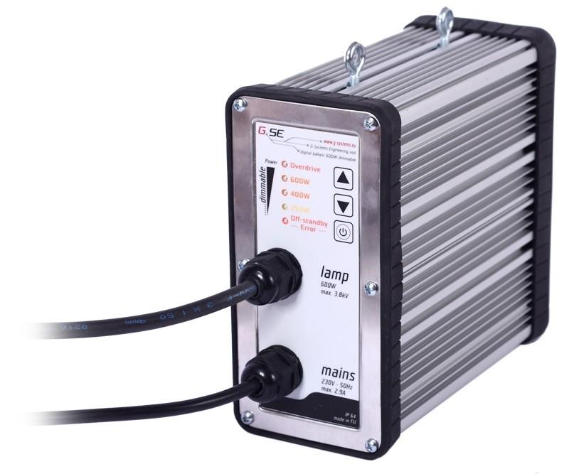 GSE digitální předřadník 600W