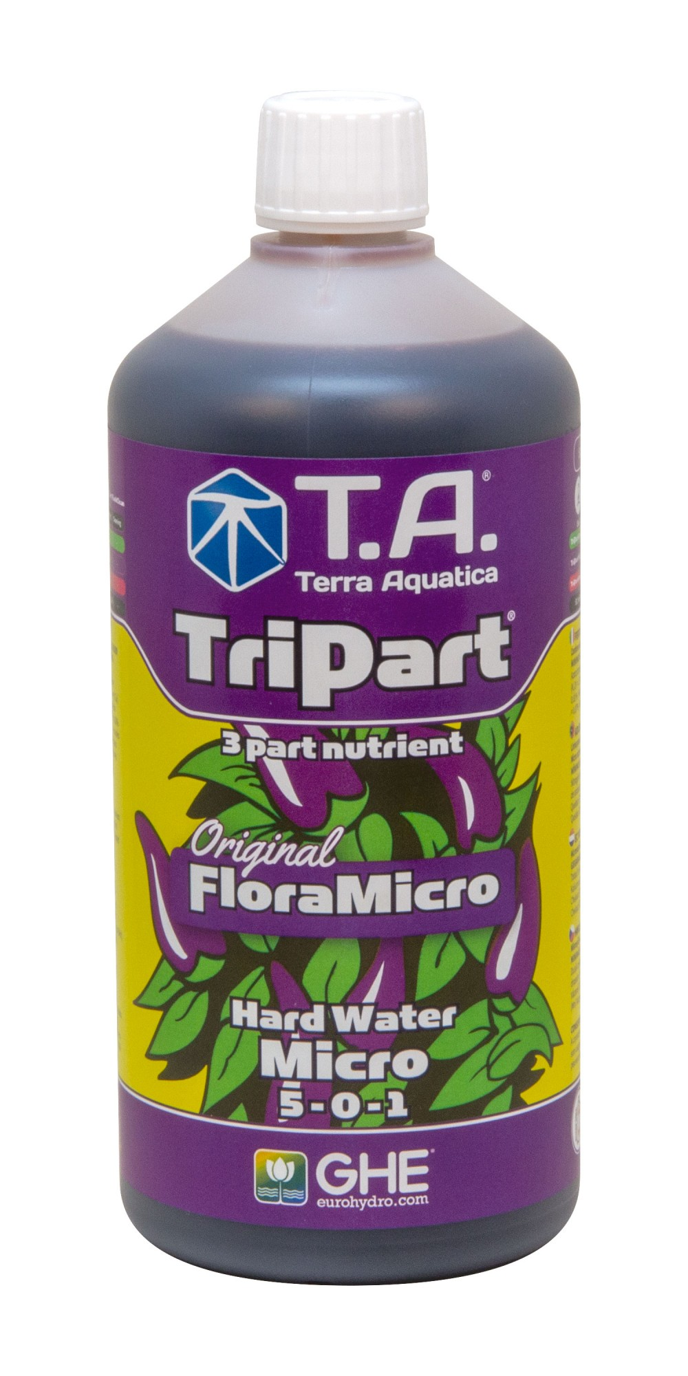 GHE FloraMicro Hard Water 500ml