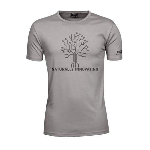 Atami pánské tričko - Naturally Innovating Stone L