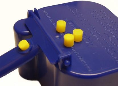 Autopot žluté silikonové těsnění